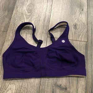 Lululemon Bra in Purple Size 34D